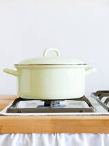 casserole light green 3l (0281-6)
