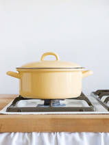 casserole golden yellow 2l (0280-6)