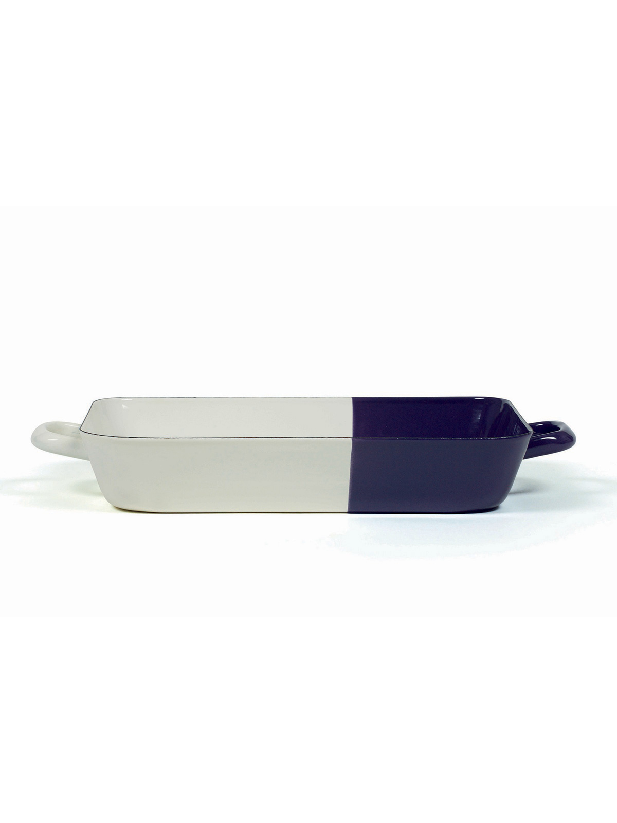 baking dish cream/plum 33/20 cm (0046-571)
